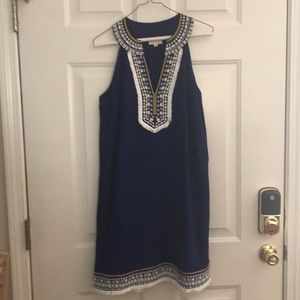 Navy Blue MudPie Dress
